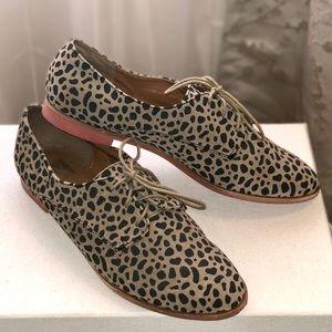 Dolce Vita Leopard print oxfords/loafers Sz 11